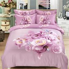 elegant flowers bedding set queen size duvet cover 200 230cm family home bed sheets 250