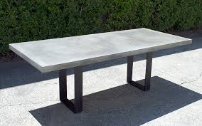 concrete table top diy home decor round dining how to inlay wood