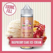 Raspberry Cake Ice Cream 120ml Shortfill E Liquid