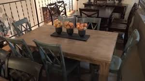 ashley furniture kitchen tables: ashley furniture mestler dining table set review youtube