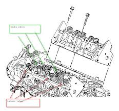 1998 chevy monte carlo the torque head bolts valve adjustment graphic