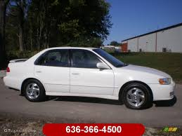 2002 Super White Toyota Corolla S #58387260 | GTCarLot.com - Car ...