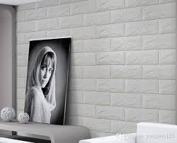 romantic embossed 3d wall panel faux brick wall panels xpe material wall sticker wall panel wall sticker wall paper with 131 15 piece on
