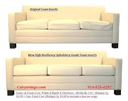 luxury couch cushion repair for couch cushion replacement leather ers sofa inserts 83 sofa cushion replacement