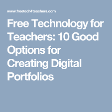 Free Technology For Teachers 10 Good Options For Creating Digital