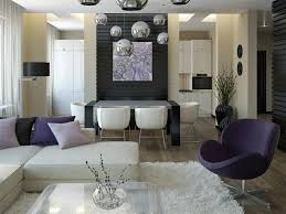 furniture beautiful living room decoration with white furry area