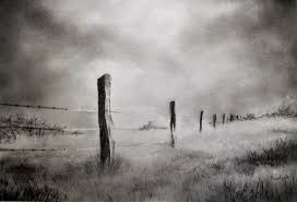barbed wire fence drawing. Barbed Wire Drawing - Fence By Prateek Sabharwal O