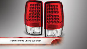 00-06 Chevy Suburban/Tahoe 1500/2500 LED Tail Lights - YouTube