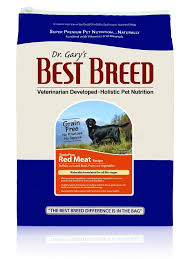dr gary s best breed grain free holistic red meat recipe dry dog food