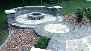 round brick fire pit circle fire pit brick circle fire pit brick circle shaped patio with
