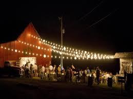beautiful rustic wedding lights. Barn With Lights Reception Beautiful Rustic Wedding R