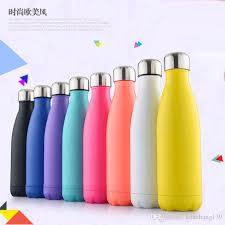 500ml double walled vacuum insulated stainless steel sport water bottlemany colour option bpa free