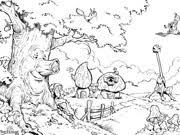 Sprookjesboom Kleurplaten Ketnet