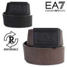 emporio armani belt men genuine leather emporio armani leather belt reversible brown black business wedding ceremony