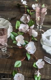Paper Flower Branches Diy Paper Apple Blossom Branches Blogger Home Projects We Love