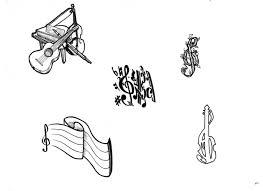 Outlines Music Tattoos Altri Disegni Per Tatuaggi Per