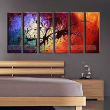 large 6pc modern abstract asian art oil painting wall decor canvas no frame home decor gifts on large art oil painting wall decor canvas with online shop large 6pc modern abstract asian art oil painting wall