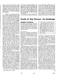 aptheker review · controversy · re ing rebellion nat  truth nat turner an exchange