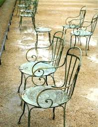 french cafe chairs. French Cafe Chairs Metal Pottery Barn N