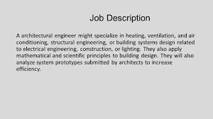 Lighting Design Engineer Job Description Architectural Engineering Ppt Video Online Download