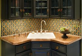 Kitchen Corner Sink Kitchen Corner Kitchen Sinks Within Remarkable Corner Undermount