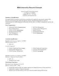 career objective for mba resumes mba resume objective foodcity me