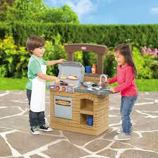 kids outdoor grill kitchen little tikes cook n play bbq