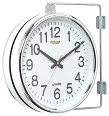 two sided clock two sided outdoor clocks designs double sided clock india