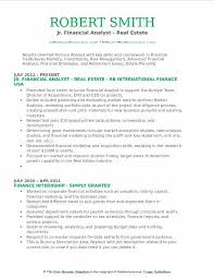 Financial Analyst Resume Objective Financial Analyst Resume Examples Resume Cover Letter 86