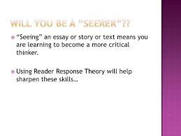 reader response theory <br > 8