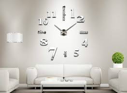 Small Picture Aliexpresscom Buy MEYA Home decoration Big Clock digital mirror