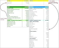 Excel Balance Sheet And Income Statement Template 7 Free