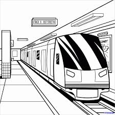 Trains to print and color. 9 Train Coloring Pages Pdf Jpg Free Premium Templates