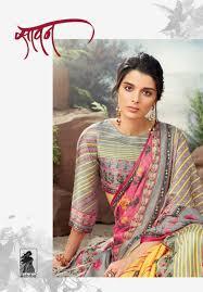 Surat Designer Sarees Online Sahiba Presents Sawan Fancy Printed Designer Saree