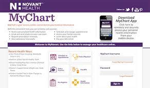 Novant Health Chart Login Prototypic Jps Mychart Access Mynovant Login My Novant Org
