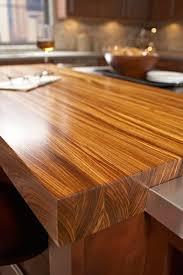 zebrawood countertop 25 inch depth
