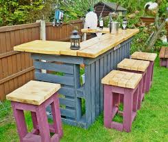 Recycled pallets outdoor furniture Furniture Ideas Garden Bar Made From Reclaimed Timber And Discarded Pallets In Furniture Pallets With Recycled Pallets Outdoor Garden Bar Place Of My Taste Garden Bar Made From Reclaimed Timber And Discarded Pallets Garden