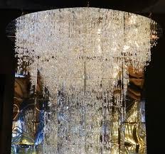 swarovski crystal worlds a huge and stunning swarovski chandelier