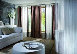 brown living room curtains. Living Room, Room Curtains With Carpet And White Sofa Cushion Brown