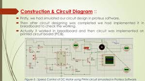 controlling of dc motor using ic 555 timer 7 construction circuit diagram
