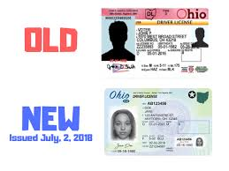 Like Ohio Driver's New Look See License What The Will