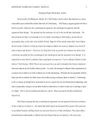 resume cv cover letter phil response paper mccloskey article response paper