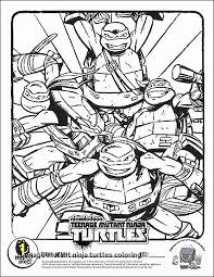 Girl Ninja Turtle Coloring Pages Printable Indian Girl Coloring