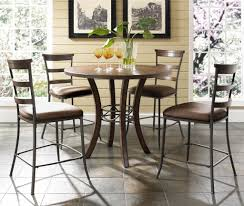 5 piece round counter height table ladder back stools set inside counter height dining table set round regarding property