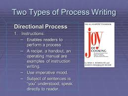 the process essay ppt video online  two types of process writing
