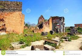 Santa Maria Capua Vetere Amphitheater In Capua-Stadt Stockfoto - Bild von  römisch, ziegelstein: 96920562