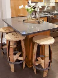 Very unique bar stools from old barrels... Chairs and Ottomans: Vintage  Makeovers