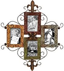 deco 79 53831 metal photo frame on metal wall art picture frames with amazon live laugh love modern abstract metal wall art home