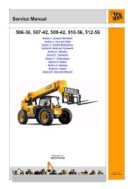 Jcb 509 42 Load Chart Jcb 509 42 Telescopic Handler Service Repair Manual