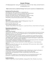 Immigration Paralegal Resume Foodcity Me